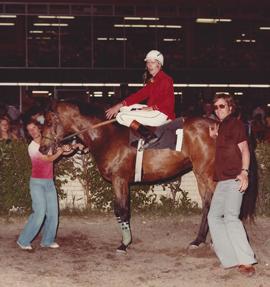 Naigo's final win for trainer Brian Palaniuk. May 23, 1980.